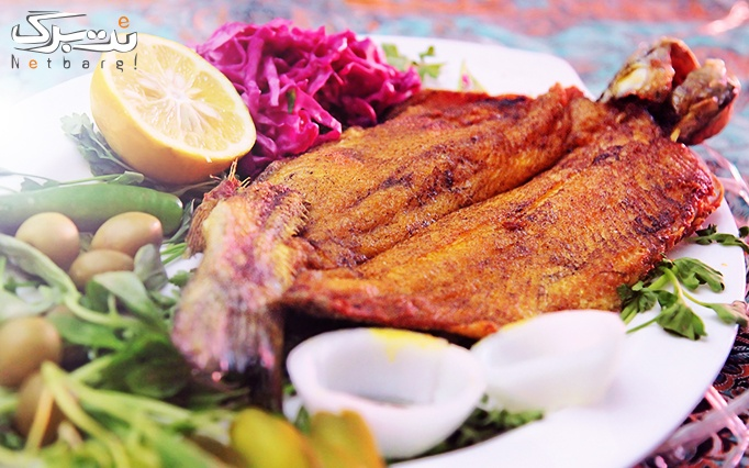 رستوران باغ ایرانی با منو غذا و چای سنتی