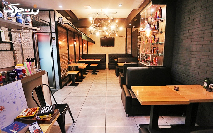 کافه رستوران دی آنتو با منو پیتزا،ساندویچ و سوخاری