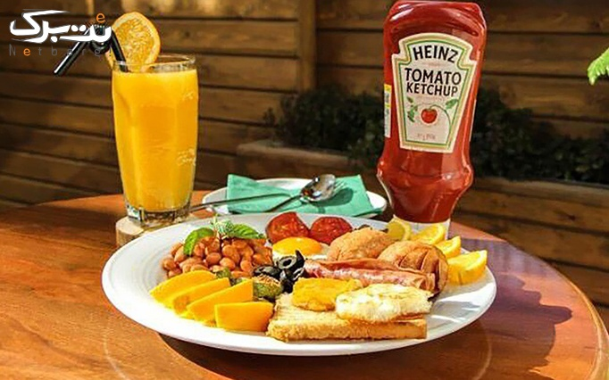 منو صبحانه بینظیر در کافه ساعت 8