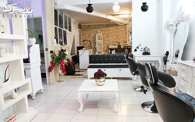 بافت شاخه ای مو در آرایشگاه گندمگون