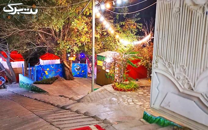 مجتمع پذیرایی توکا با دیزی سنگی