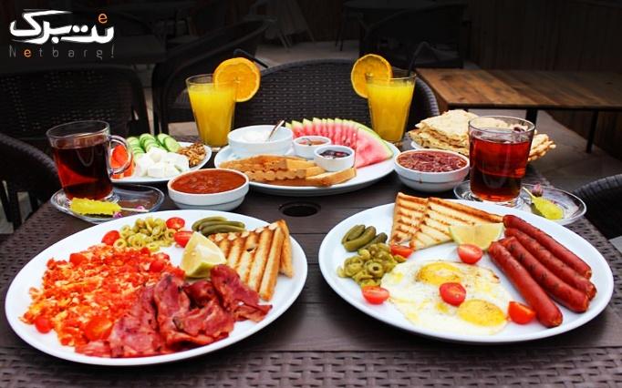 منو صبحانه در کافه گالری آرتلند