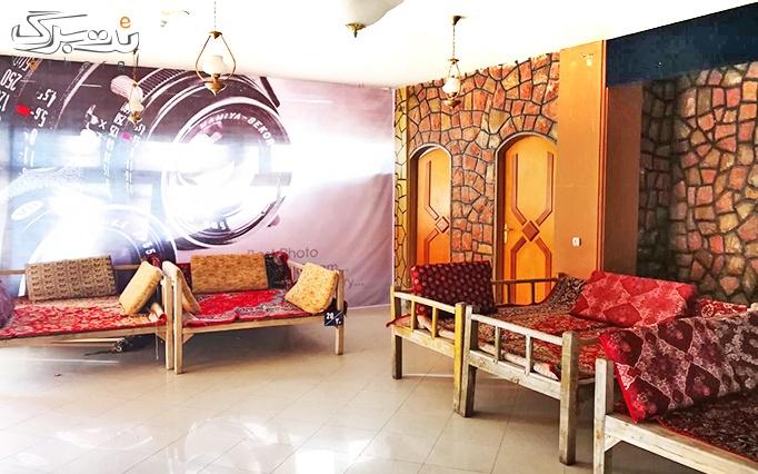 نان داغ کباب داغ در رستوران سنتی هتل سحاب
