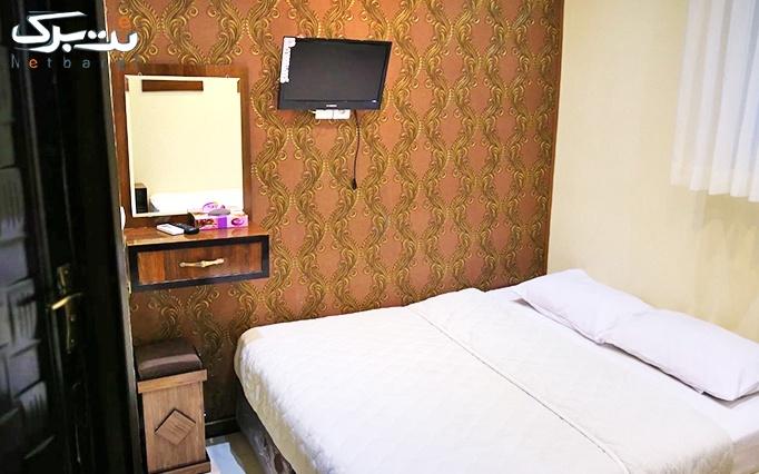 پکیج 1: اقامت تک (شنبه تا سه شنبه) در هتل جمالی