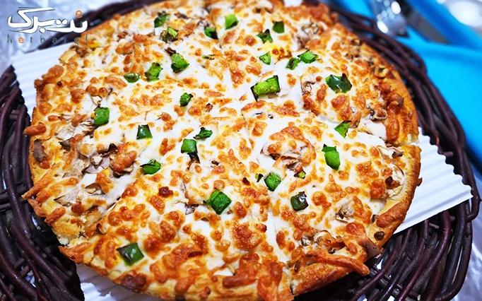 منو پیتزا و ساندویچ در پیتزا لاوان
