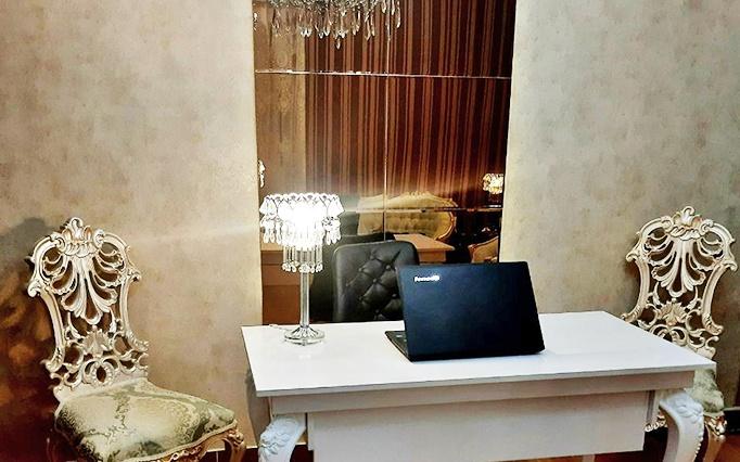 فیبروز ابرو در سالن زیبایی قصر هنر