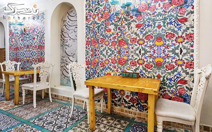 غذاهای ایرانی و موسیقی زنده در عمارت سنتی ایرانی