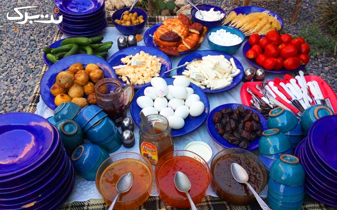 اقامت با صبحانه در اقامتگاه آقبلاغ (همدان)