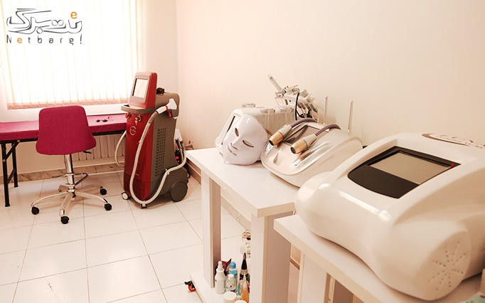 لیزر موهای زائد الکساندرایت در مطب دکتر دلیر