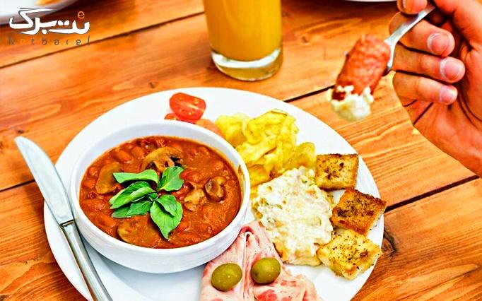 بوفه صبحانه در مهمانپذیر اسپینو