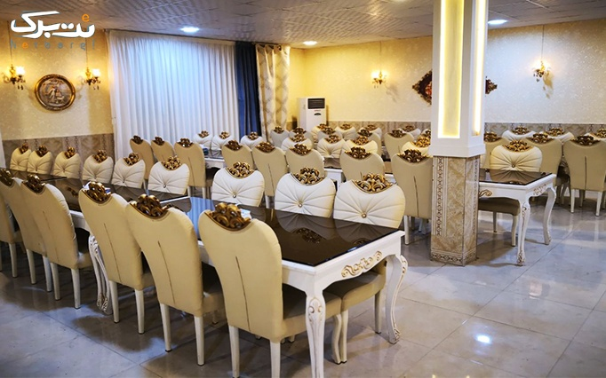 منو غذاهای ایرانی در رستوران قصر خاتم