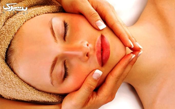 ماساژ سر و صورت در سالن زیبایی کاژین