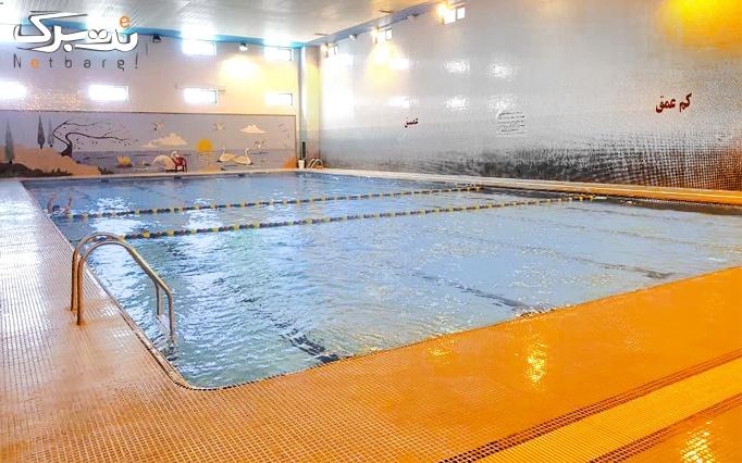 شنا در استخر اندیشه