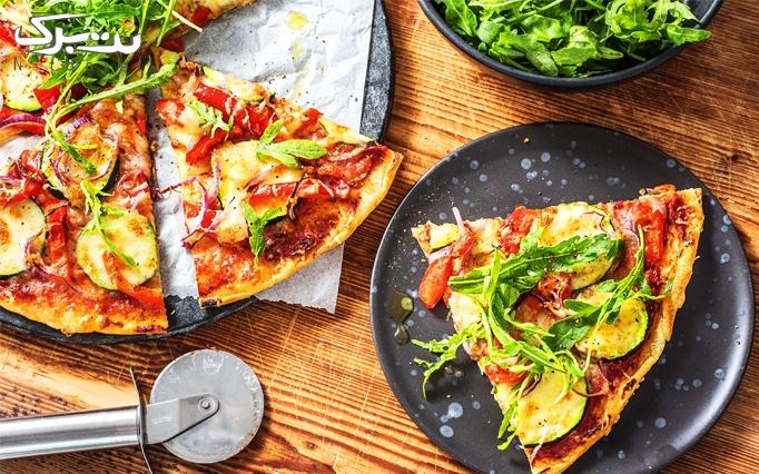 پیتزا در فست فود نانداک