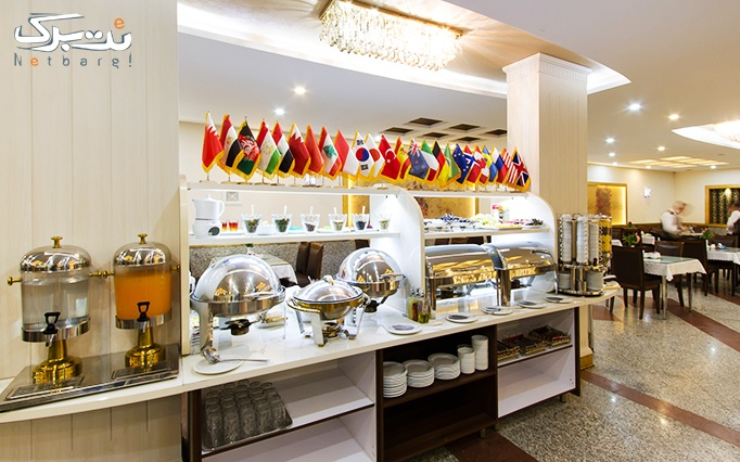 بوفه صبحانه کامل در هتل پامچال