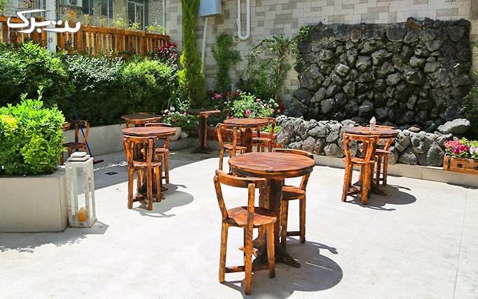 منوی صبحانه در کافه آس مان