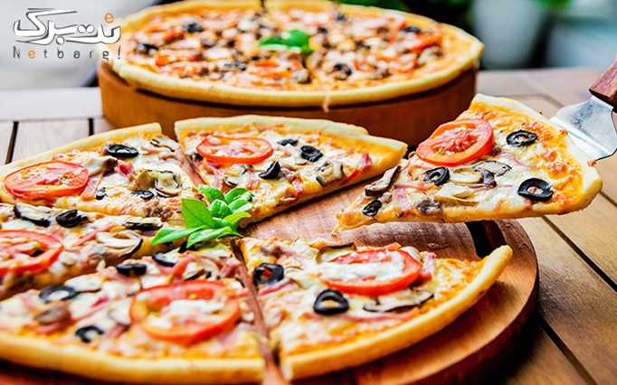منو پیتزا و ساندویچ در کافه رستوران پالرمو
