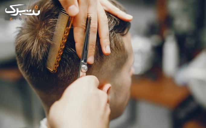 اصلاح موی مردانه در پیرایش مهرداش