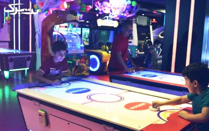 انواع بازی در شهربازی آدرینا