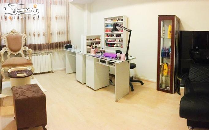 خدمات ناخن آرایشگاه و آموزشگاه بانو صولتی
