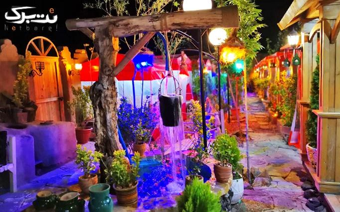 منو لذیذترین کباب ها در سنتی سرای شب های آریایی