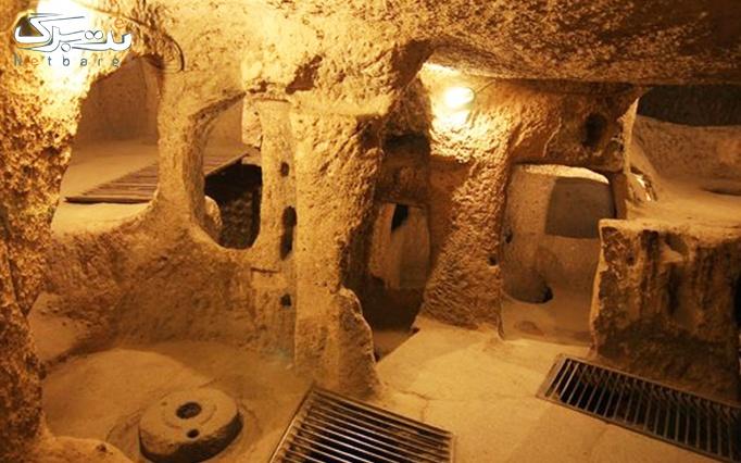 تور کویر ابوزید و شهر زیر زمینی نوش آباد