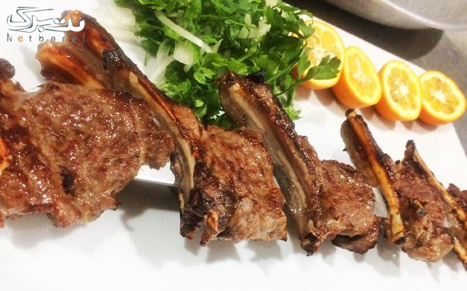 غذای ایرانی با سرویس کامل در رستوران دارچین شاندیز