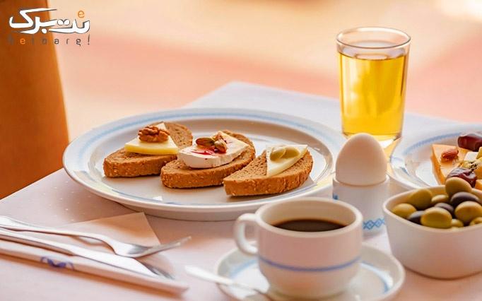 بوفه صبحانه خوشمزه و لذیذ در هتل هما تهران