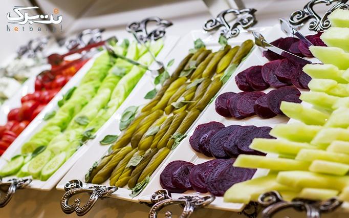 جشنواره تابستانه بوفه صبحانه در هتل پامچال