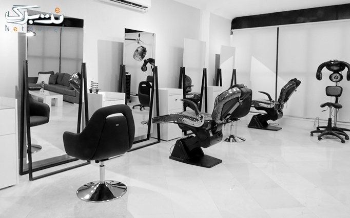 رنگ موی متوسط در سالن زیبایی آگرین