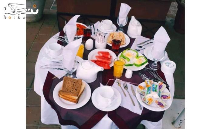 بوفه متنوع صبحانه هتل مشهد
