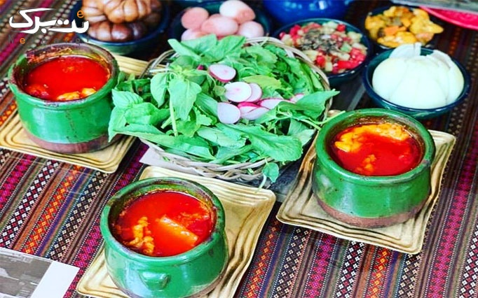 رستوران مولانا با دیزی خوشمزه و دورچین