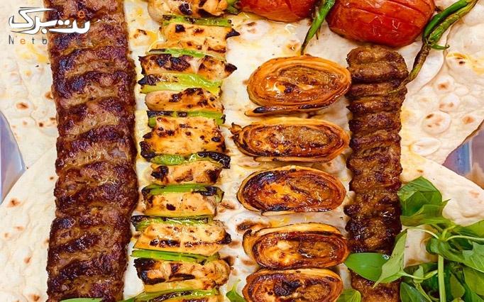 انواع کباب و دل و جیگر در رامنی باربیکیو