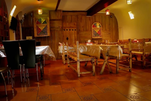 سینی گوشت 2 نفره رستوران سجاد ( ویژه شام )