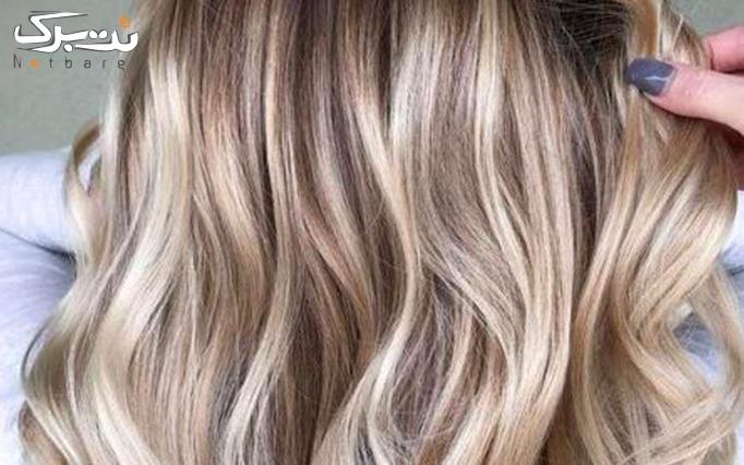 مش فویلی و رنگ مو در سالن زیبایی ستاره
