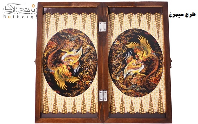 تخته نرد در طرح های مختلف از فروشگاه بازار روسا