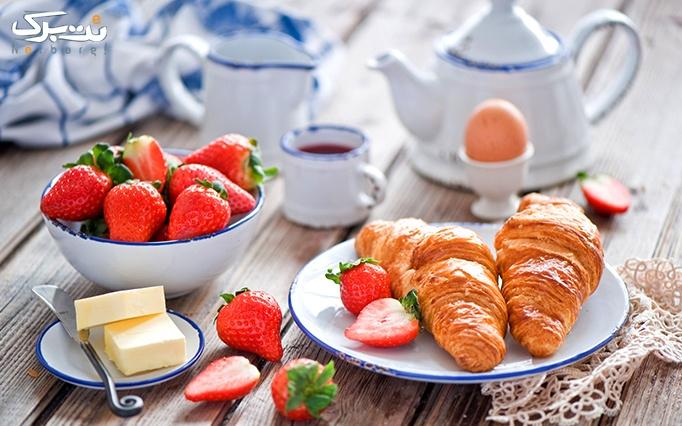بوفه صبحانه کامل و منوی باز کافی شاپ 37 درجه