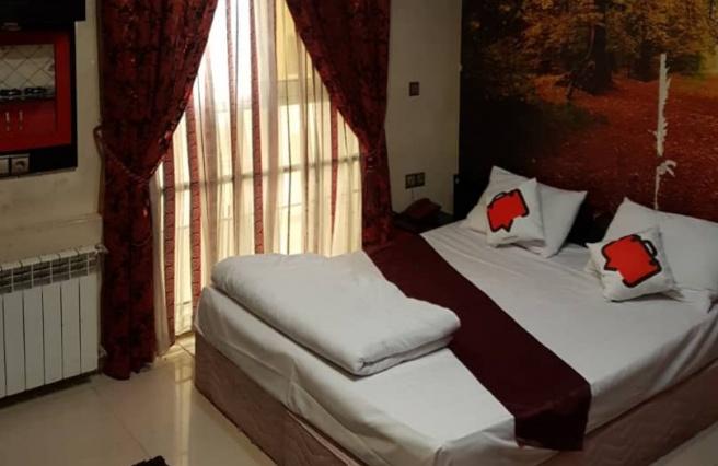 اقامت فولبرد در هتل راسپینا
