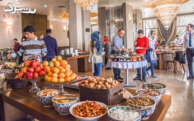 بوفه صبحانه متنوع در کافه و رستوران تهران بين