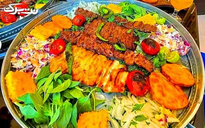 کباب تبریزی و منو کافه در کافه رستوران ژابیز لانژ