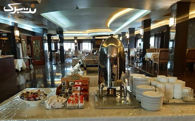 بوفه صبحانه در هتل 4ستاره بین المللی هویزه