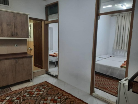 اقامت فولبرد در هتل رئیسی