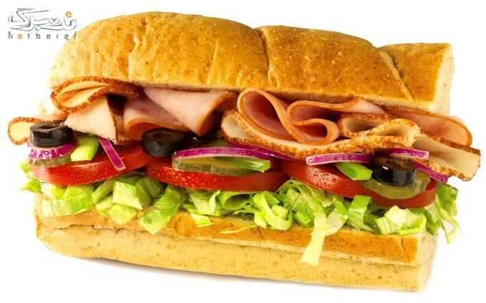 ساندویچ های گرم و سرد فست فود های فود