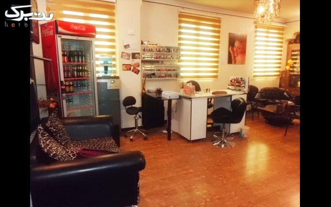 میکروپیگمنتیشن  و کوتاهی مو در سالن آرایش رژان