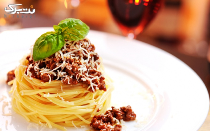 غذای خوشمزه در رستوران ایتالیایی چنا