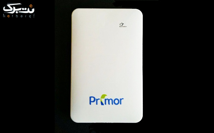 پاور بانک Primor slim power bank 9000 Map