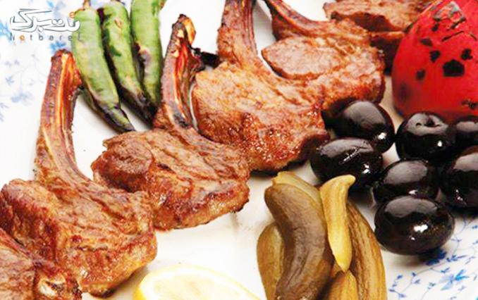 طعم لذیذ کباب های ایرانی در رستوران باران