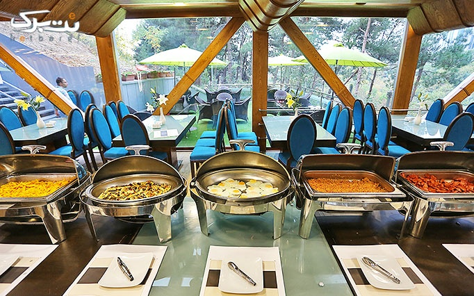 بوفه بی نظیر و سوپرلوکس صبحانه رستوران VIP