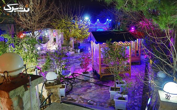 محیط دنج و دید عالی در رستوران بام قلهک دره