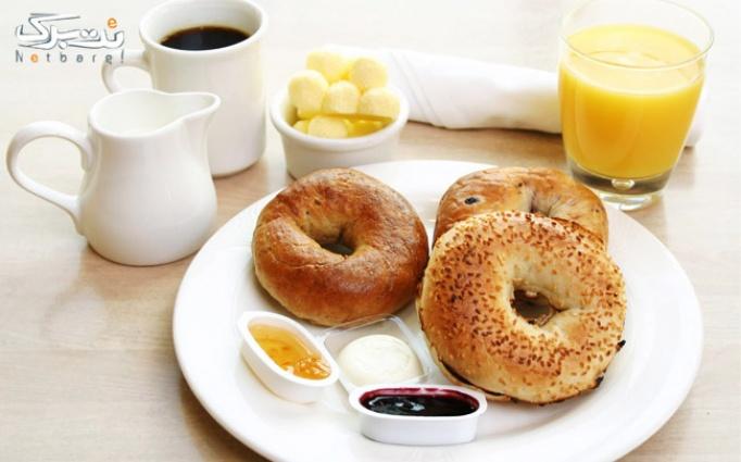 صبحانه خوشمزه در کافه رستوران قصرمون